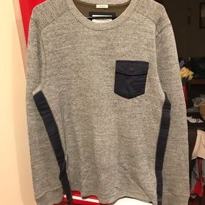 Abercrombie and Fitch muscle sweater sweatshirt xl